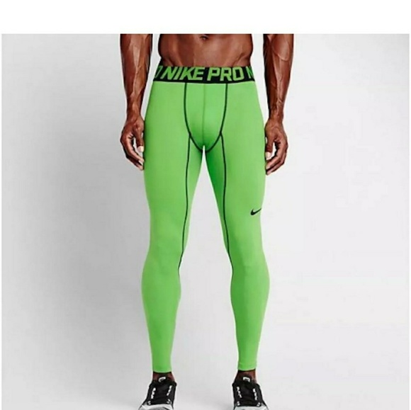 2cf7140392456 Nike Pants | Pro Combat Hyperwarm 34 Compression Tights | Poshmark
